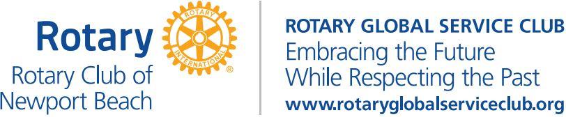 Rotary Club Of New Port Beach Logo