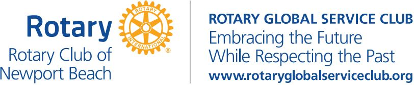Rotary Club Of New Port Beach Logo